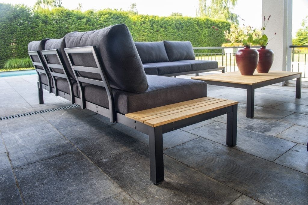 Tori Corner Set XL - backview | Yoi Furniture