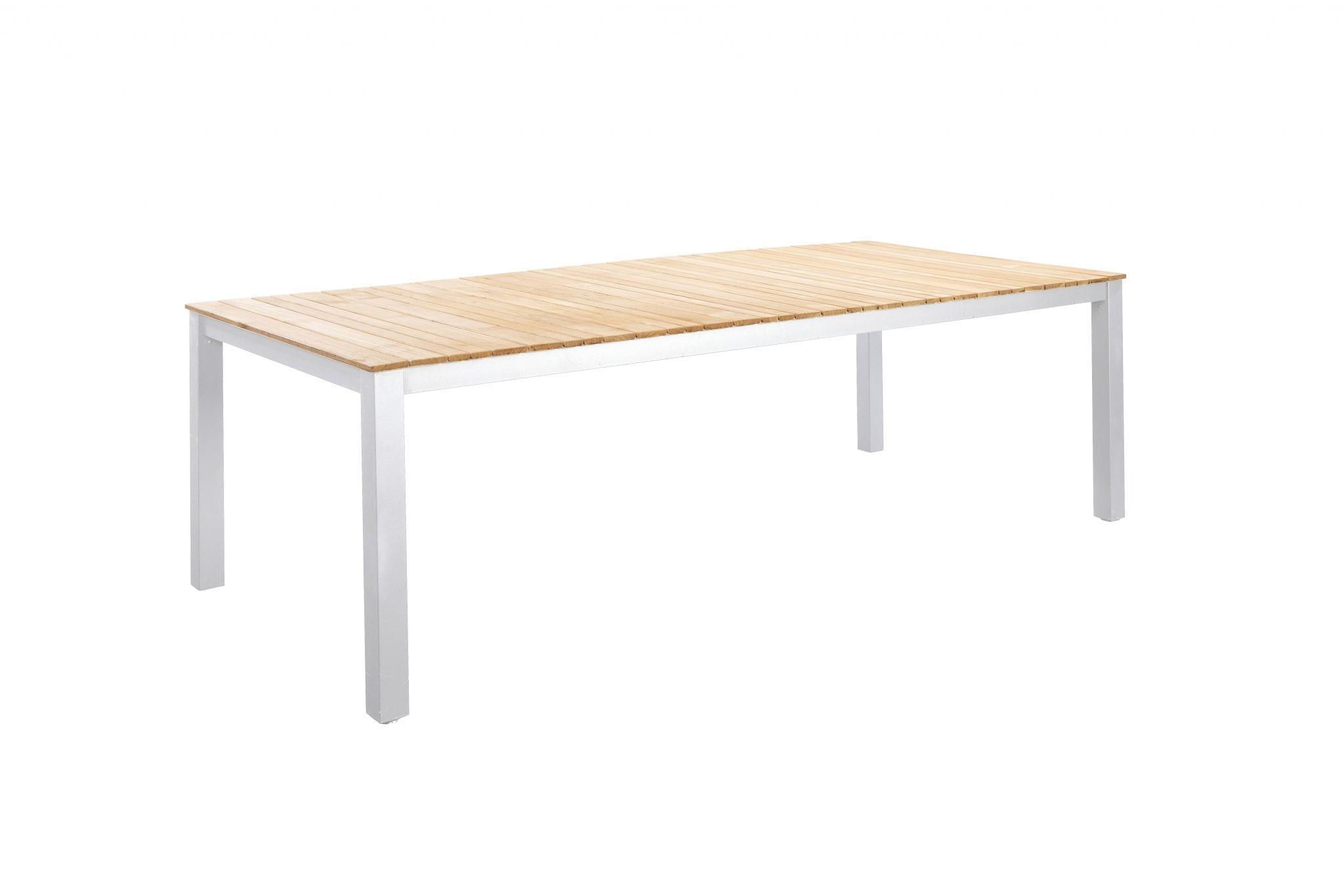 Arashi 220x100 dining table - white | Yoi Furniture