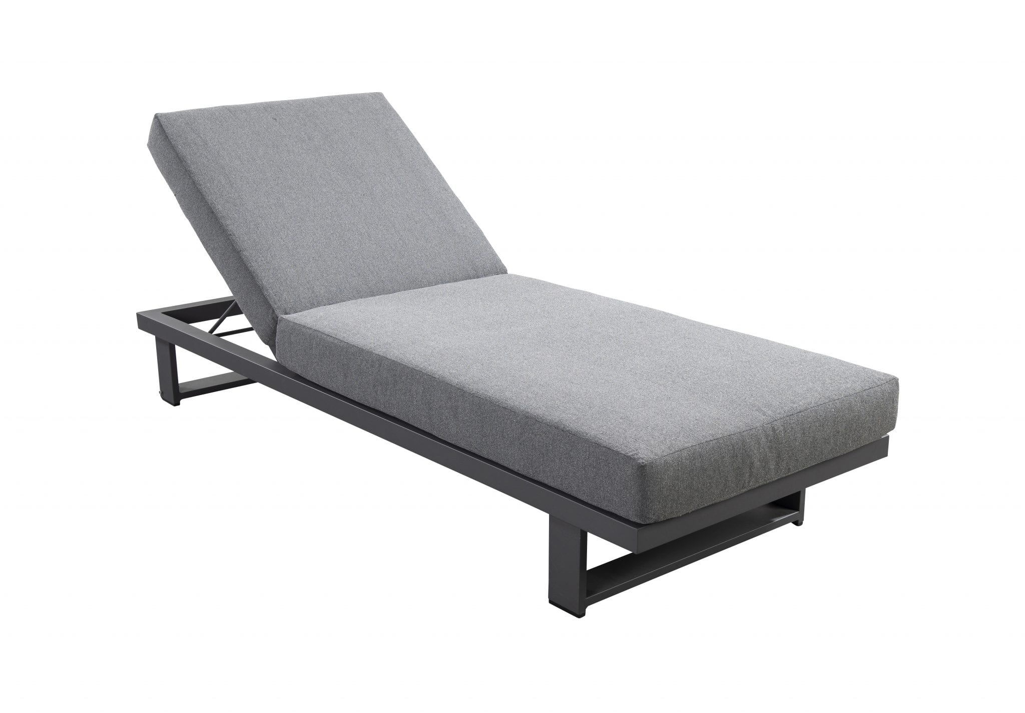 Kazoku lounger - dark grey | Yoi Furniture