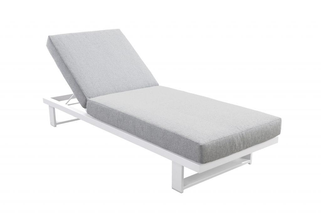 Kazoku lounger wit | YOI Furniture