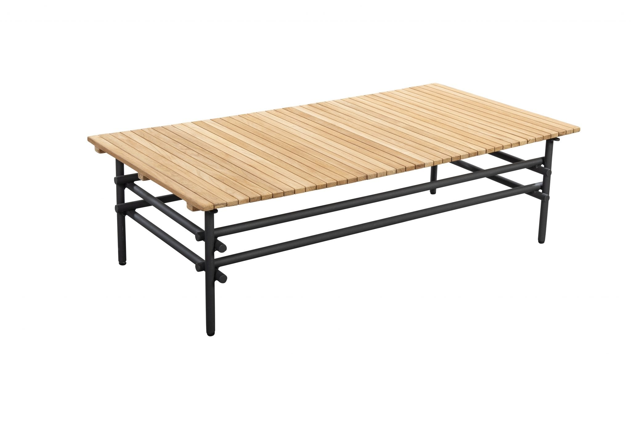Ki 125x60 coffee table - dark grey | Yoi Furniture