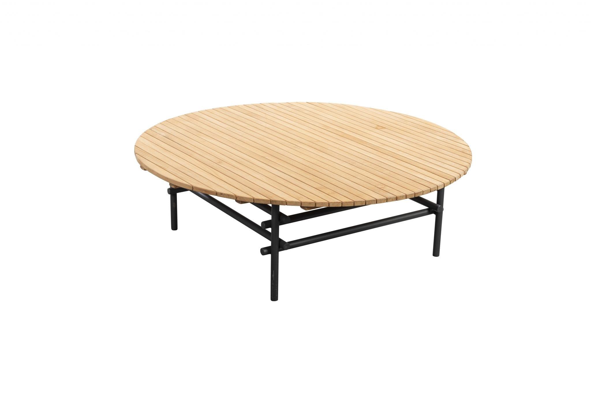 Ki 100 round coffee table - dark grey | Yoi Furniture