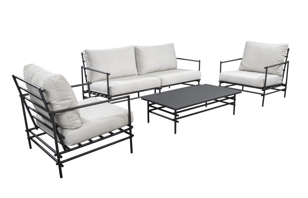 Ki lounge set grey | YOI Furniture