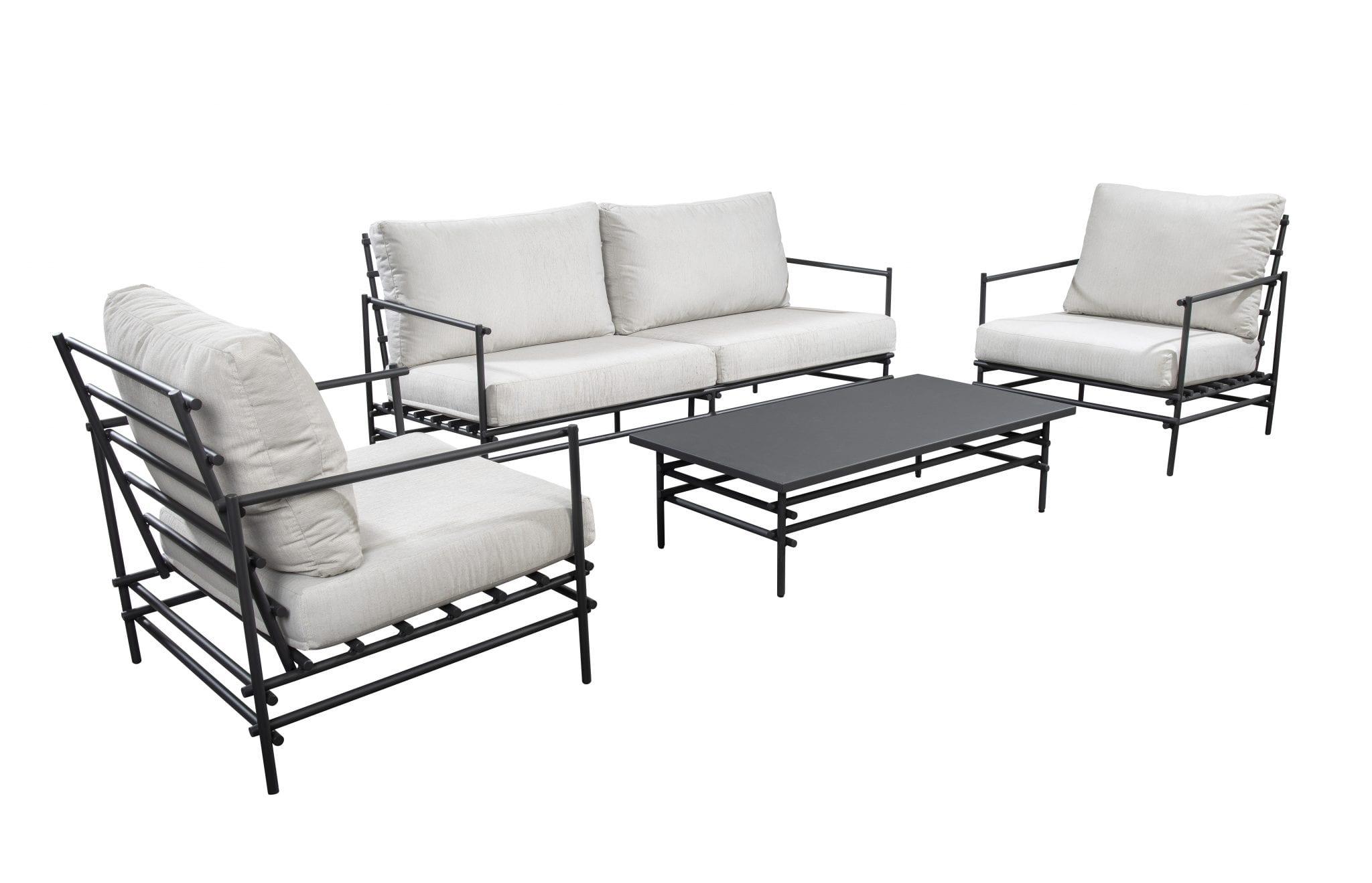 Ki lounge set - dark grey | Yoi Furniture