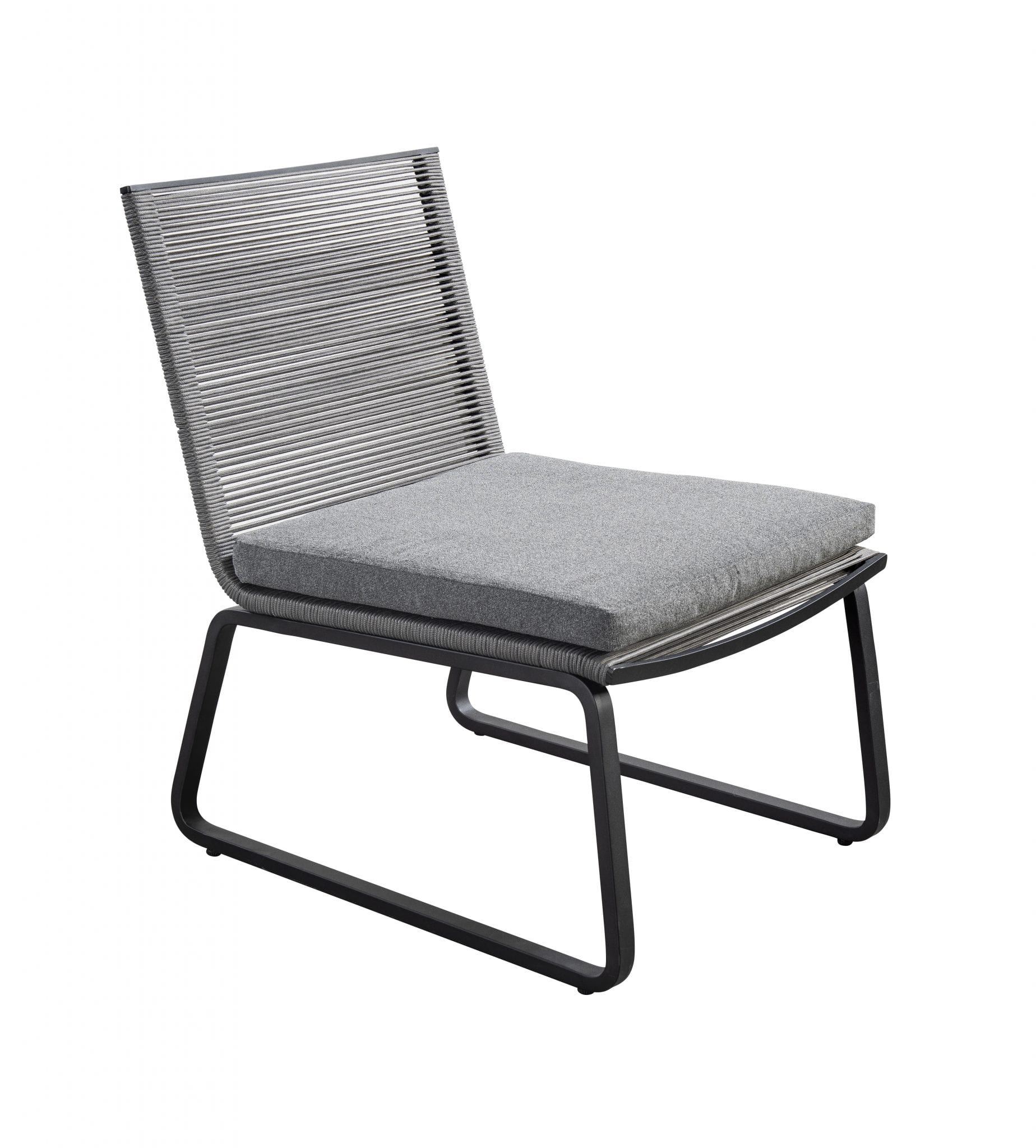 Kome lounge chair - dark grey | Yoi Furniture