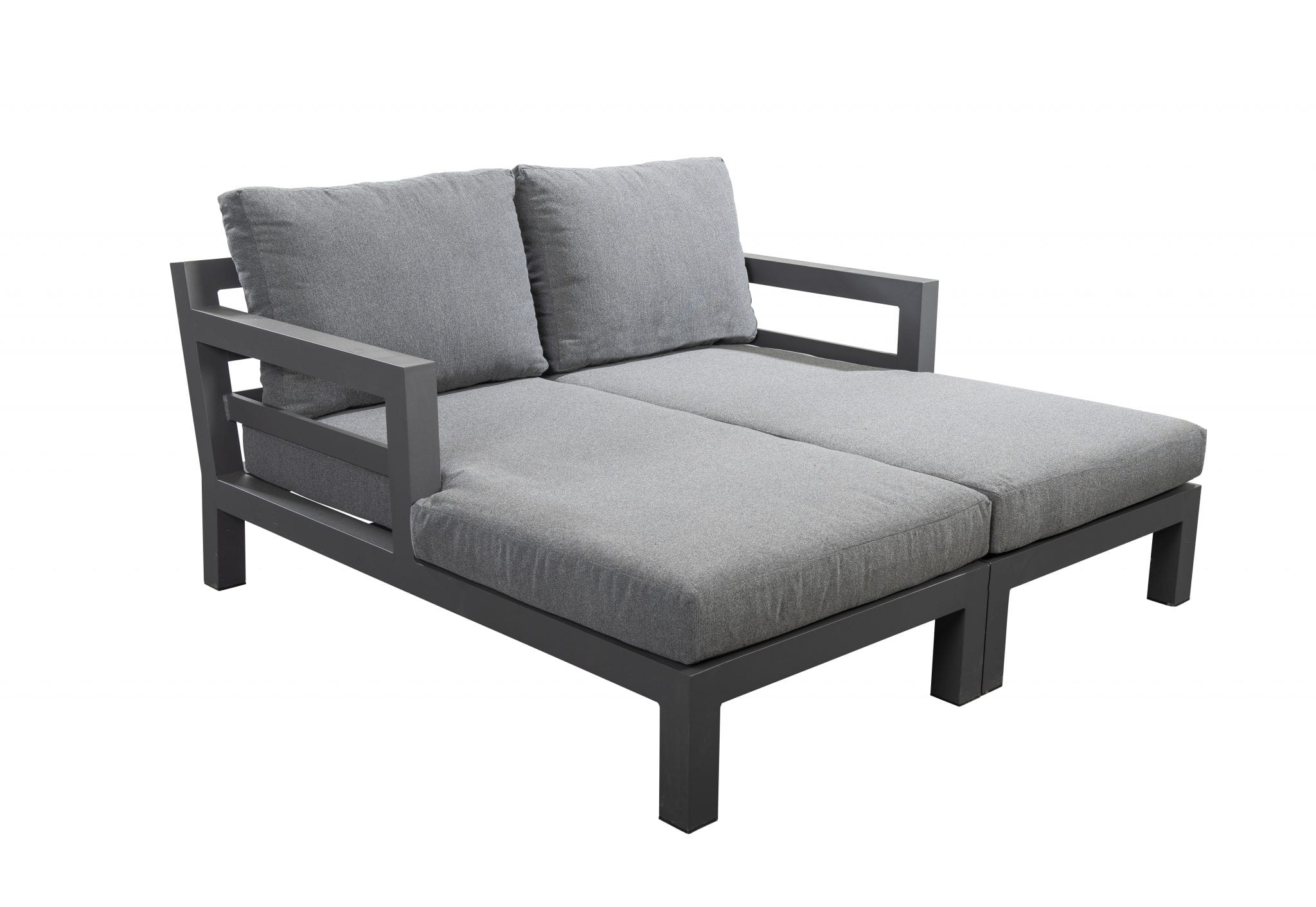 Midori divan set - dark grey | Yoi Furniture