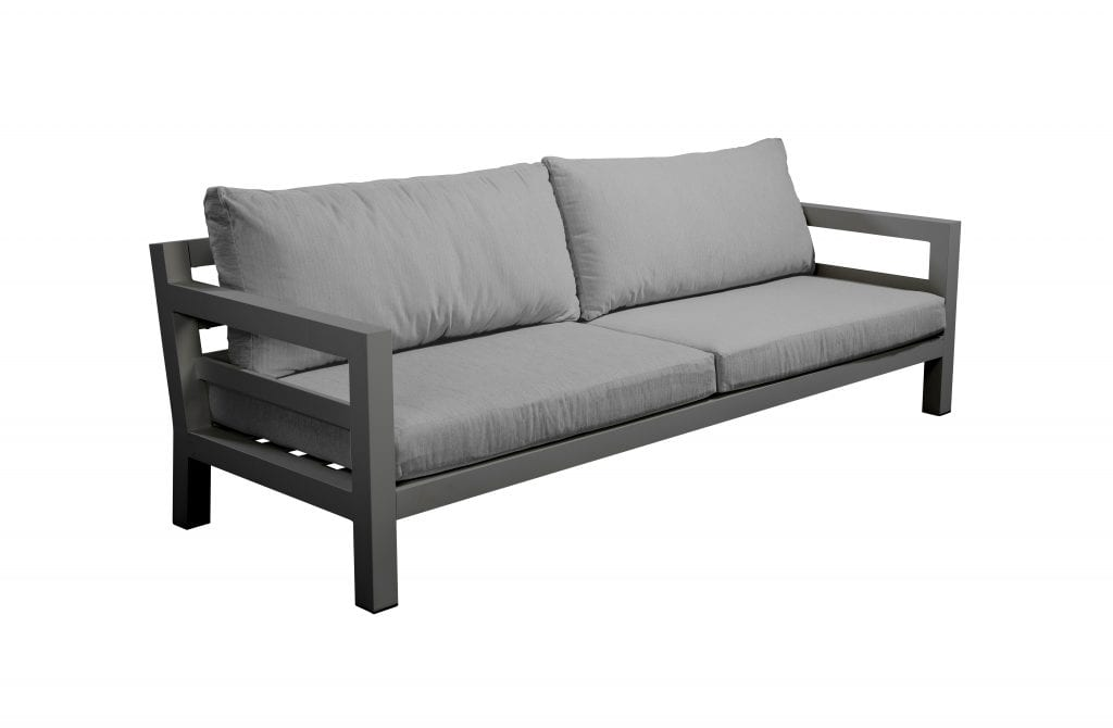 Midori sofa 3 seater - dark grey | Yoi Furniture