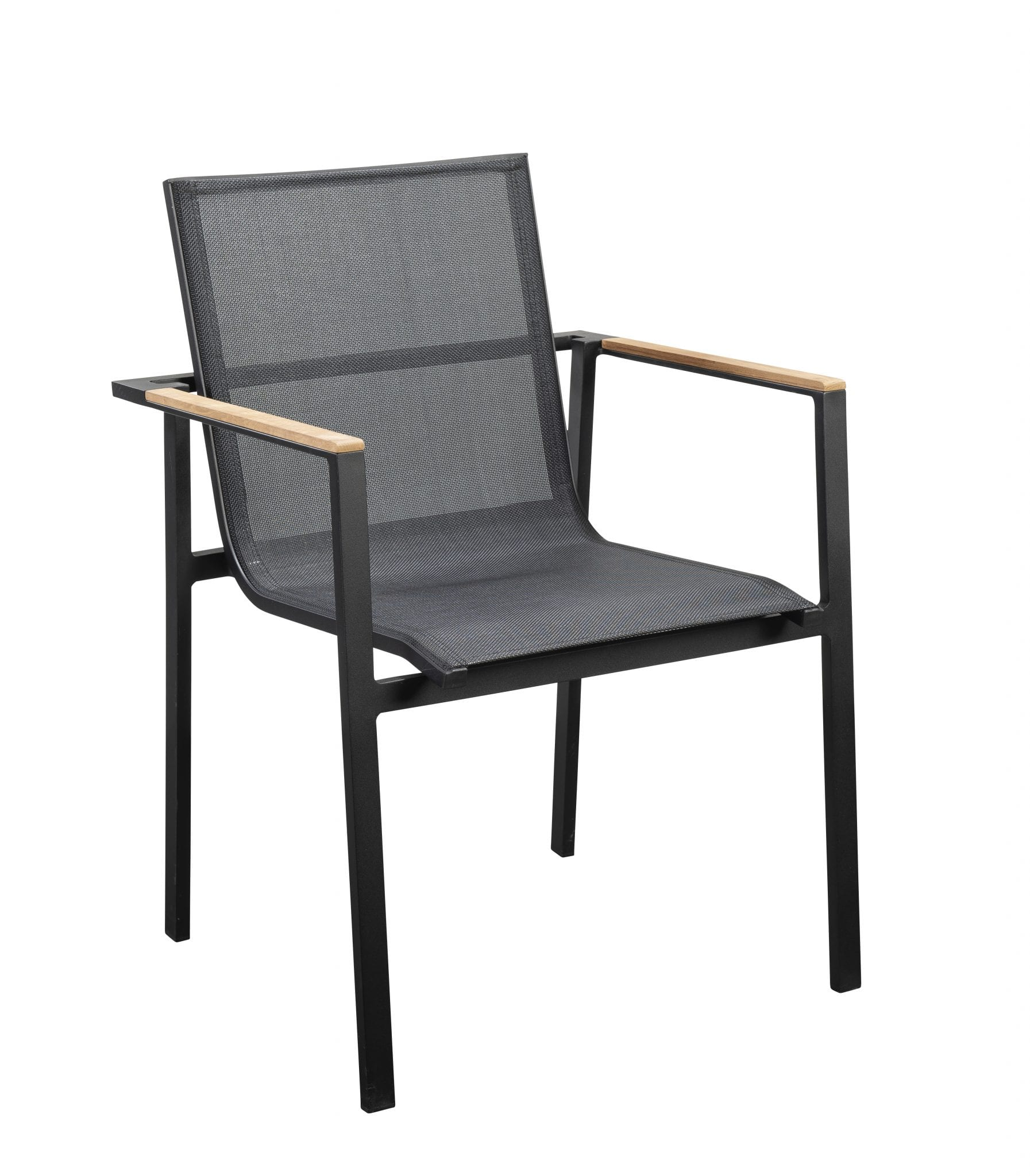 Mizu stackable dining chair - black | Yoi Furniture