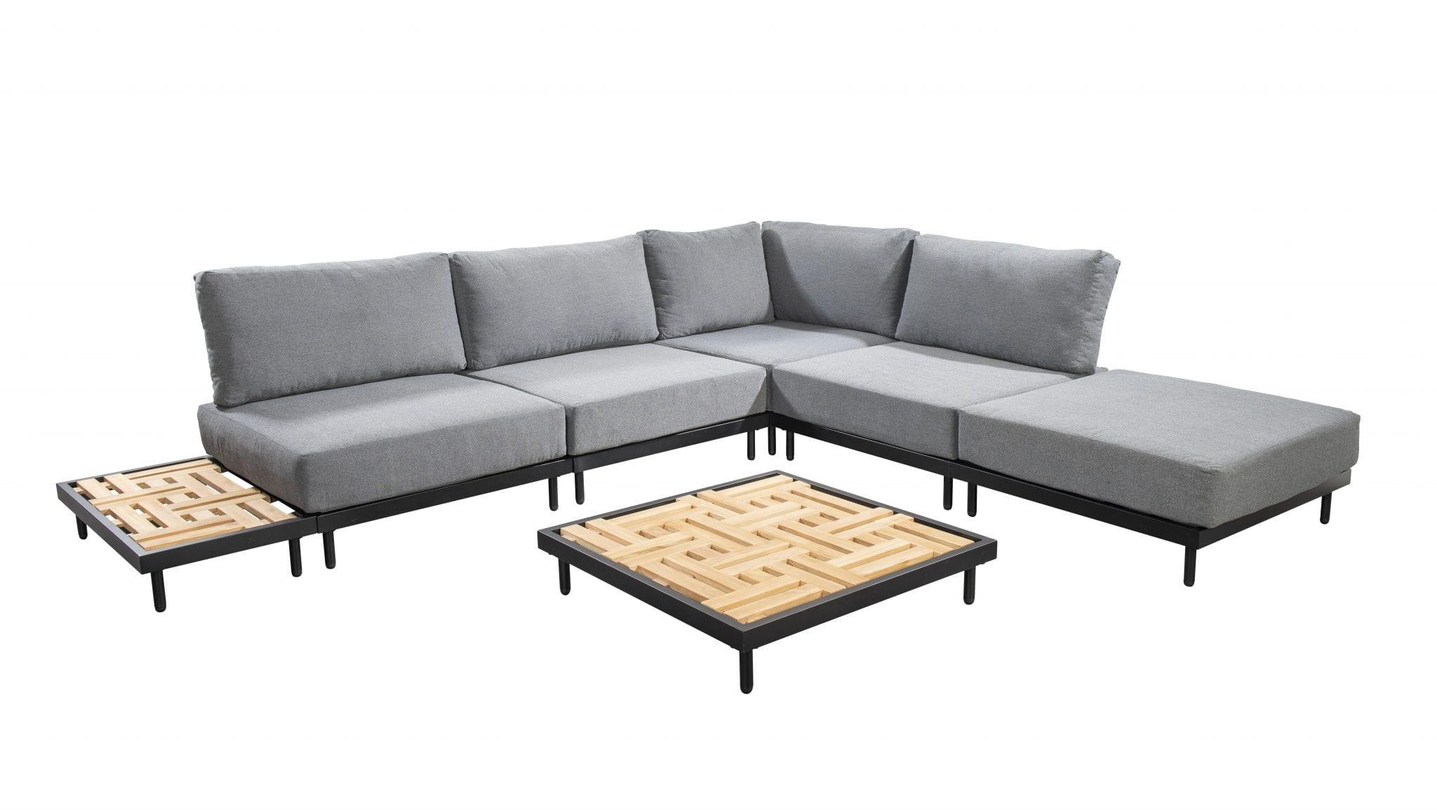Natsu corner set - black | Yoi Furniture