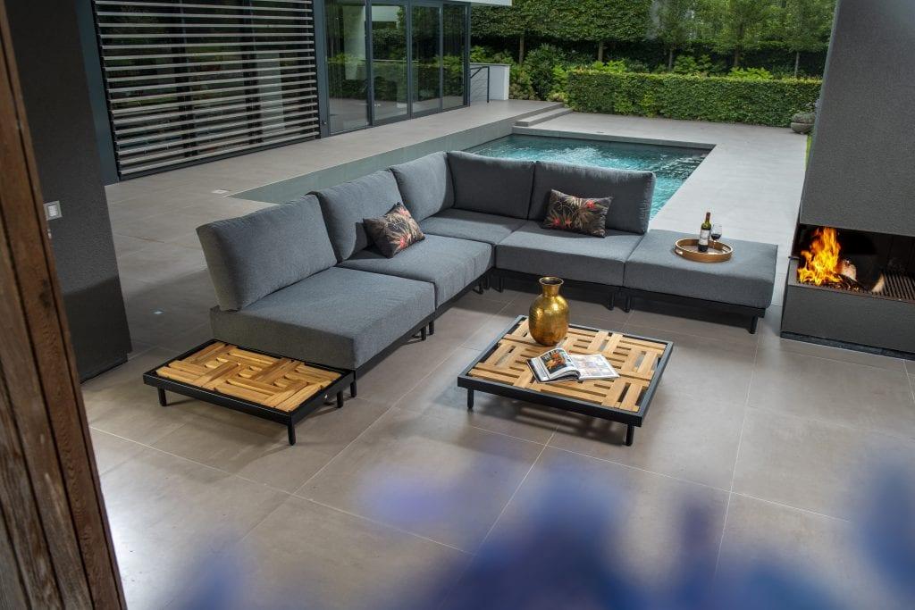 Natsu hoekset lounge | Yoi Furniture