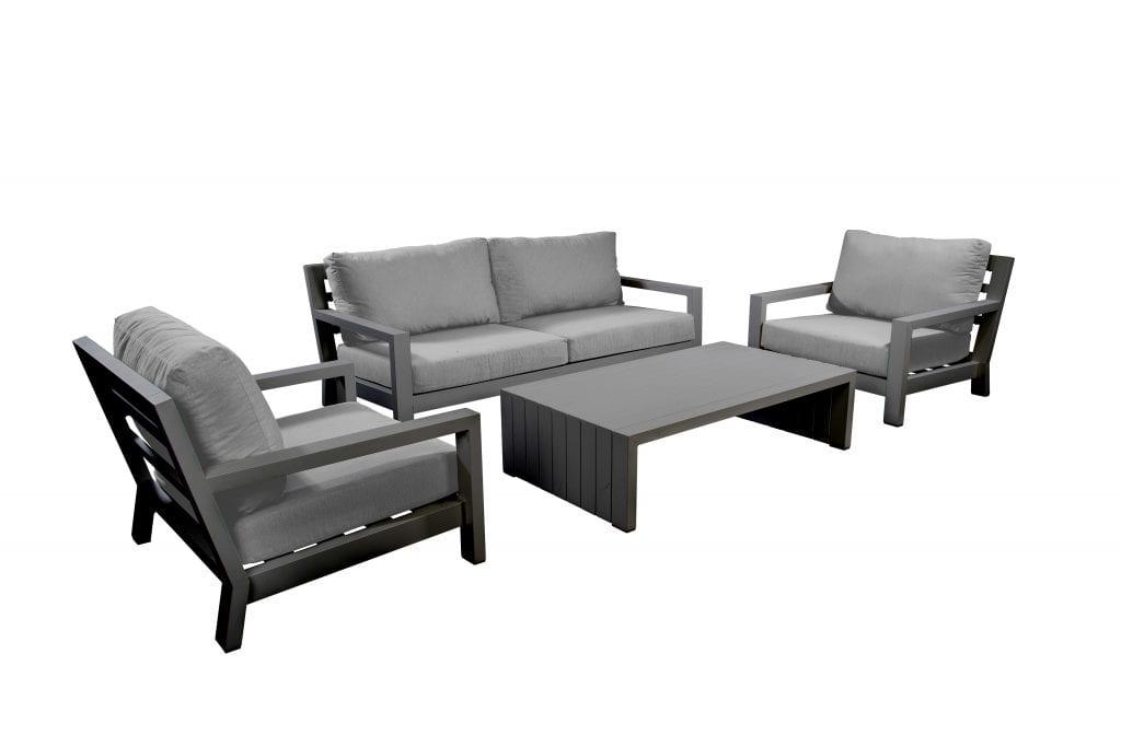 Ookii lounge set - dark grey | Yoi Furniture