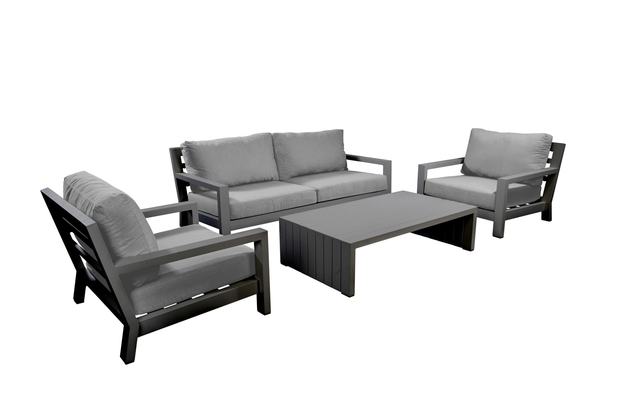 Ookii lounge set - dark grey | Yoi Furniture