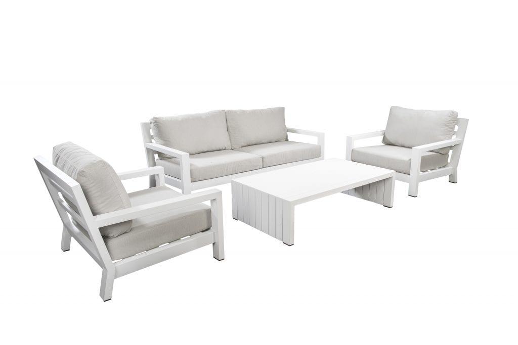 Ookii lounge set - white | Yoi Furniture