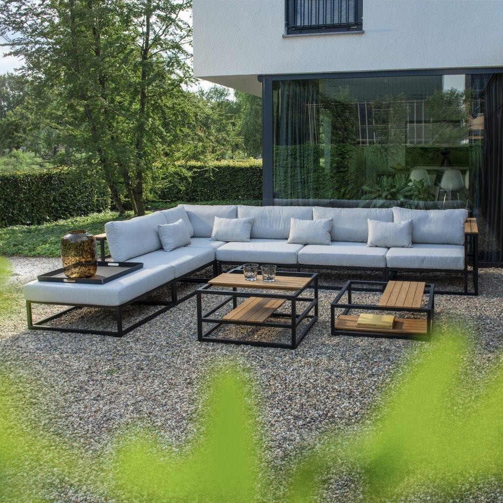 Sora hoekset witte kussens | YOI Furniture