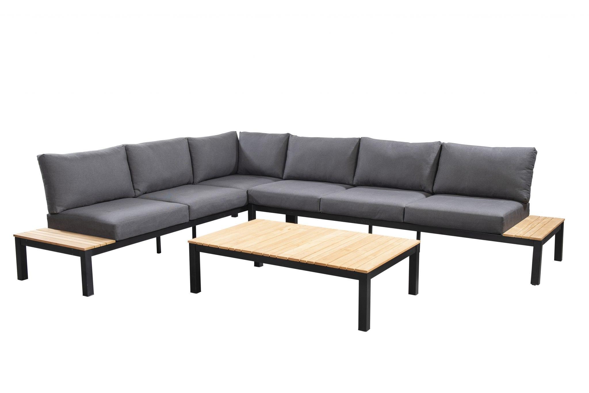 Tori corner set - black | Yoi Furniture