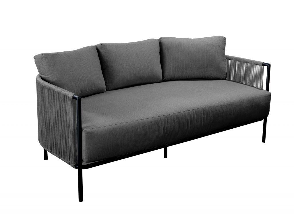 Umi sofa 3 seater - dark grey | Yoi Furniture