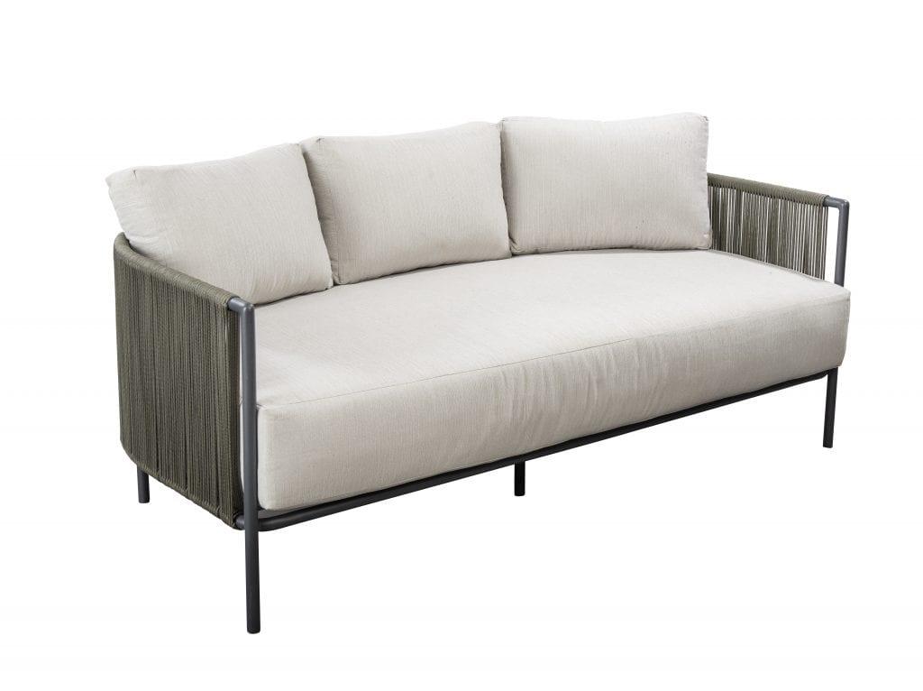 Umi sofa 3 seater - green | Yoi Furniture