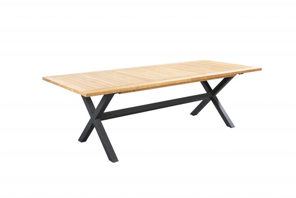 Wakai 236x100 dining table - dark grey | Yoi Furniture