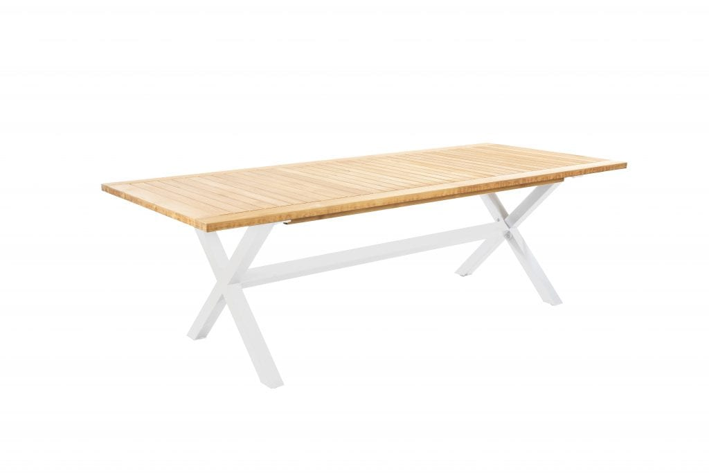 Wakai 236x100 dining table - white | Yoi Furniture