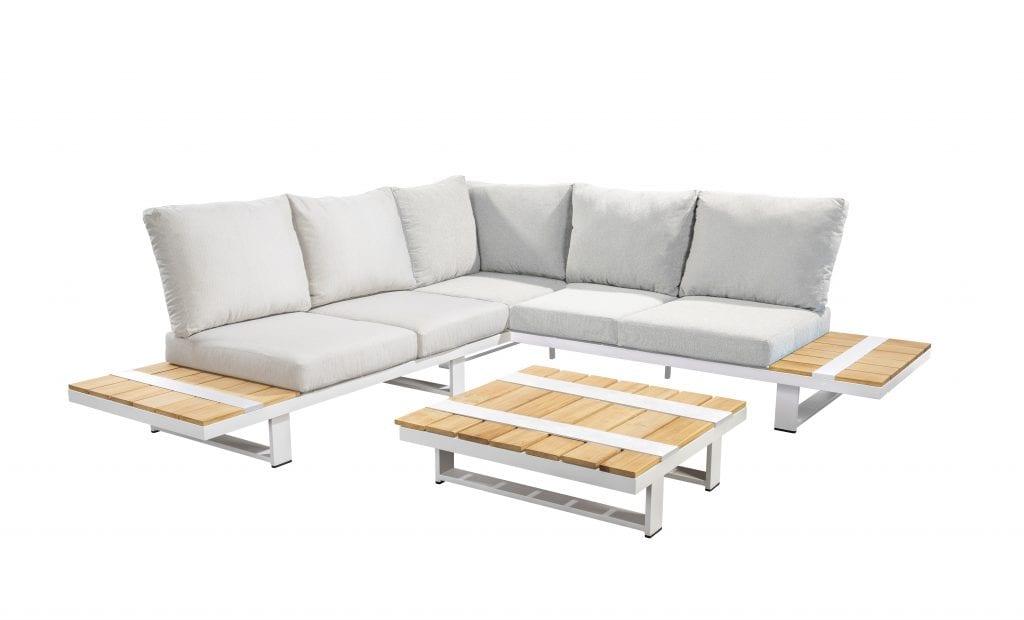 Yuwaa corner set - white | Yoi Furniture