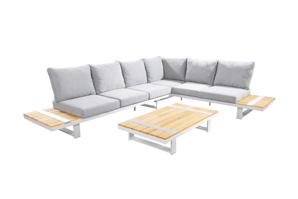 Yuwaa corner set XL - white   Yoi Furniture